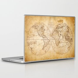 World in Hemispheres Laptop & iPad Skin