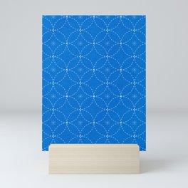 Japanese Sashiko Pattern Mini Art Print