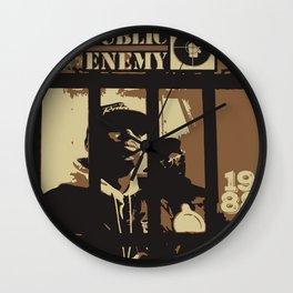 Public Enemy: 1988 Wall Clock