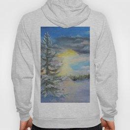 Michigan Pines at Sunset Hoody