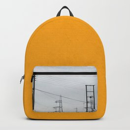 Orange Pylons Backpack