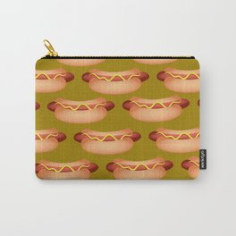 Hotdog Background Carry-All Pouch