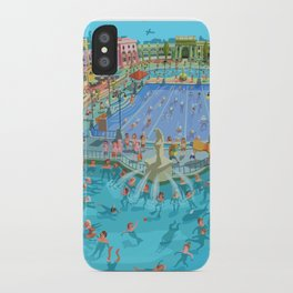 Szechenyi bath Budpest iPhone Case