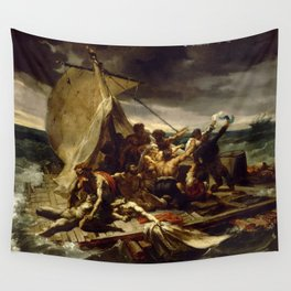 """Théodore Géricault """"The Raft of the Medusa"""" Wall Tapestry"""