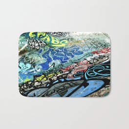 Graffiti is Art Bath Mat