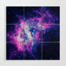 Dream Of Nebula Galaxy Wood Wall Art