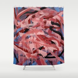 All at Once 2 Shower Curtain