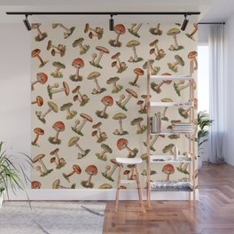 Magical Mushrooms Wall Mural