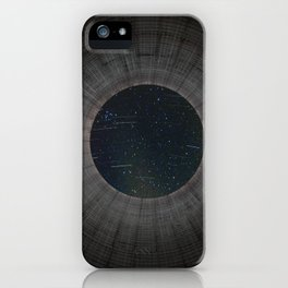 Looking up a Nuclear Cooling Tower iPhone Case