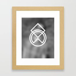 Don't Think 04 Framed Art Print
