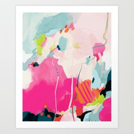 pink sky II Art Print