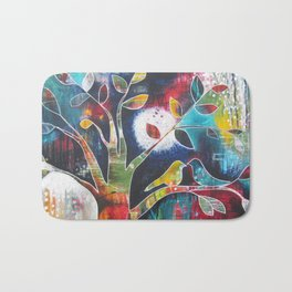 Love and its Many Colours Bath Mat