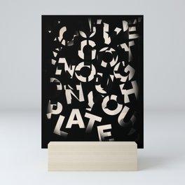 Chercher ses mots Mini Art Print