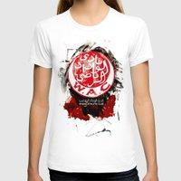 casablanca T-shirts featuring WAC Wydad Casablanca by Genco Demirer