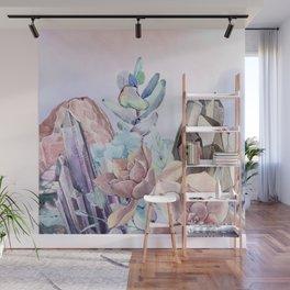Gemstone Flower Wall Mural