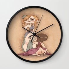 Spellbound Submissive Wall Clock