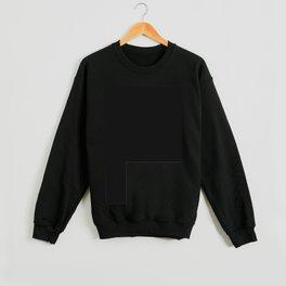 White Rectangle Crewneck Sweatshirt