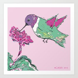 The Return of the Hummingbird Art Print