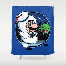 Super Marshmallow Bros. Shower Curtain