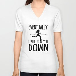 Cross Country Running Unisex V-Neck