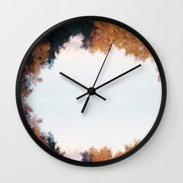 meadow of colors Wall Clock