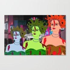 Drop Dead Diva Canvas Print