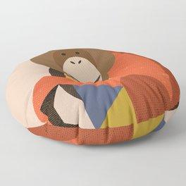 Orang Utan Floor Pillow