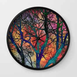 Dreamy Sunset Wall Clock