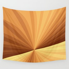 Graphic Design With Stripes Wall Tapestry