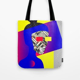 Space Portrait Tote Bag
