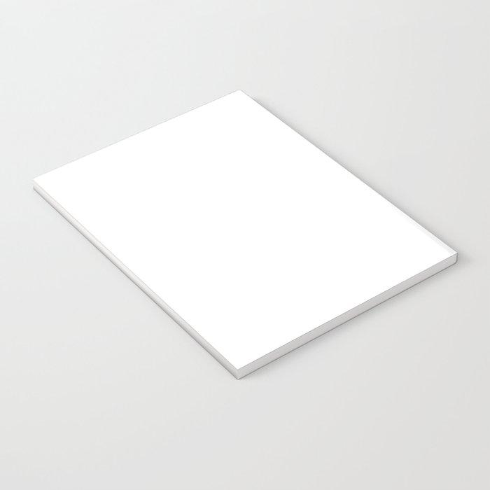 Black and white elephant illustration Notebook