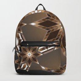 Morning Star Circle (Brown) Backpack