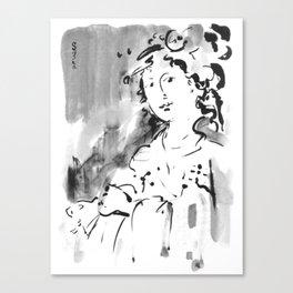 Saskia #2 Canvas Print