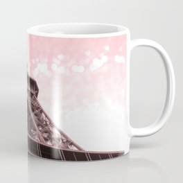 Paris Pink Eiffel Tower Coffee Mug