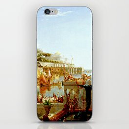 Cole Thomas The Consummation The Course of the Empire iPhone Skin