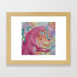 Monster Party 2! Framed Art Print