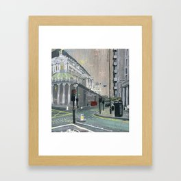 London #1. Near St. Paul's Framed Art Print