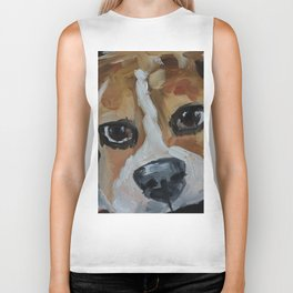 Dog, beagle, puppy, animal Biker Tank