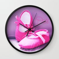 doll Wall Clocks featuring DOLL by Alix Création