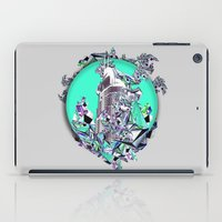 cityscape iPad Cases featuring Cityscape by infloence