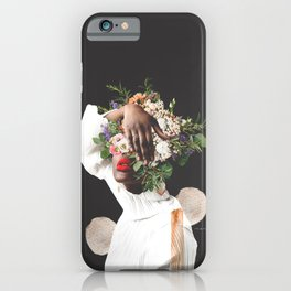 Don't be Shy. Just Shine - Digital Collage iPhone Case