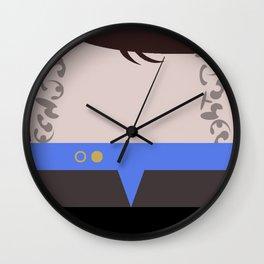 Ezri Dax Minimalist Star Trek DS9 Deep Space Nine - Lieutenant  - startrek - Trektangles Wall Clock