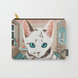Sialata, the Kitty Cat Carry-All Pouch