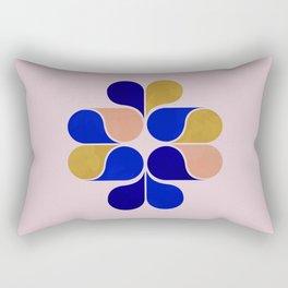 Tear drop shapes creation Rectangular Pillow