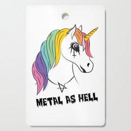 Metal Unicorn Cutting Board