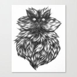 Colonel Meow Canvas Print
