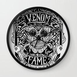 Venom Fame crest Wall Clock