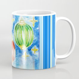 Three oriental lanterns Coffee Mug