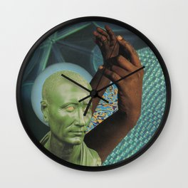 claws out Wall Clock
