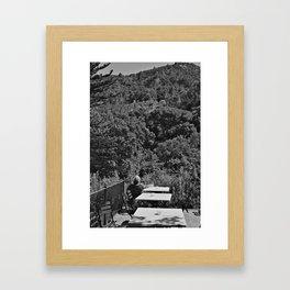 Lonely Man (Palma Majorca) Framed Art Print